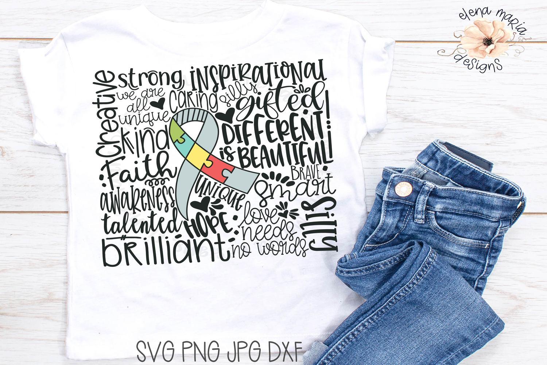 Autism Svg | Awareness Svg Jpg Png Cricut Cut Files example image 1