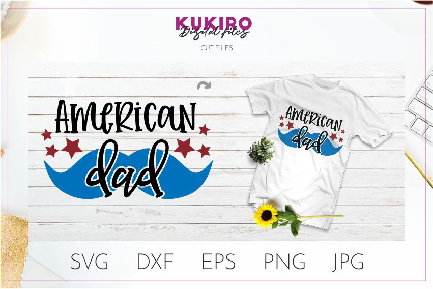 4th of July Bundle SVG - Big Patriotic Cut files Bundle example image 19