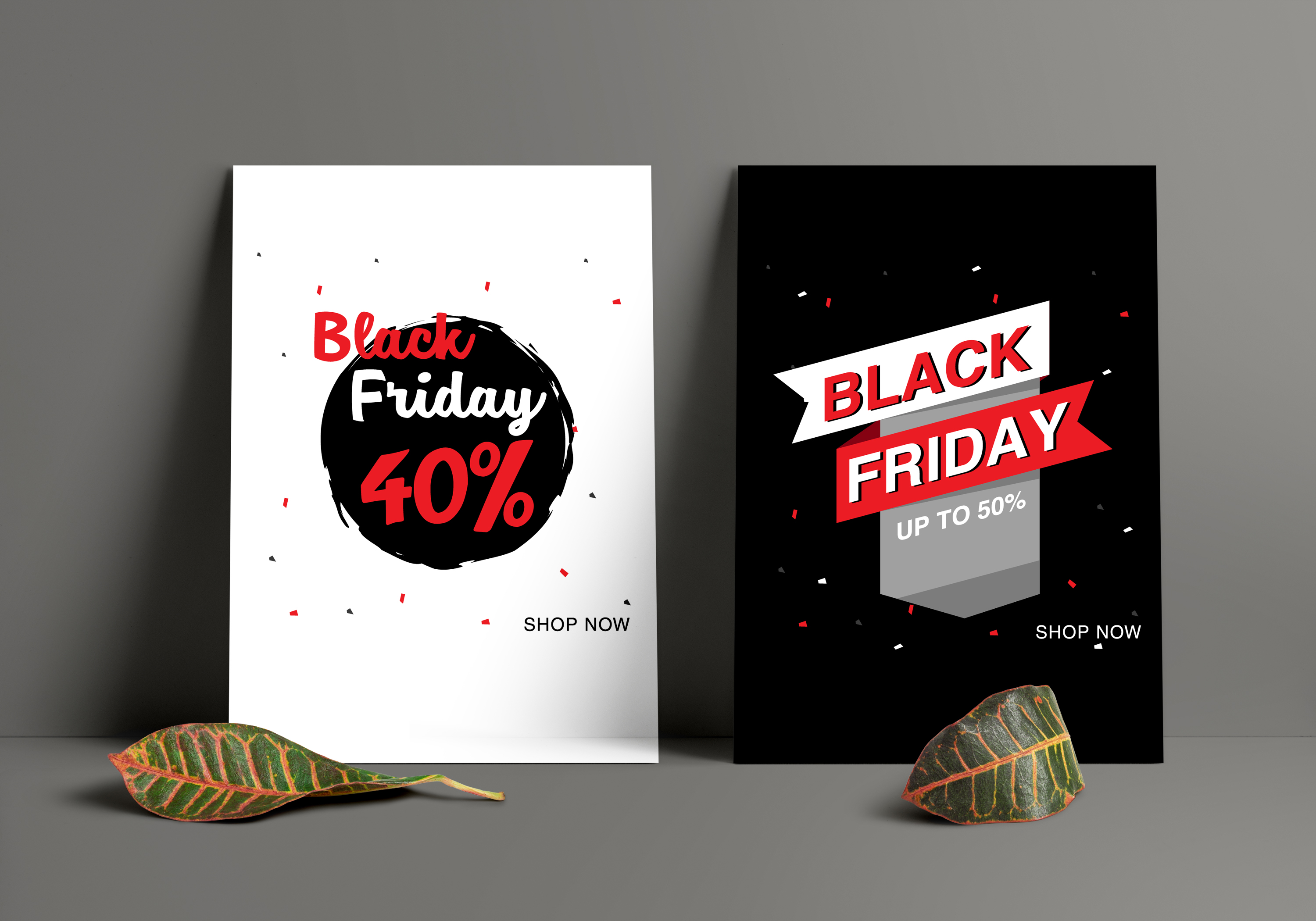 16 Black Friday Sale Banner for online shop, store example image 3