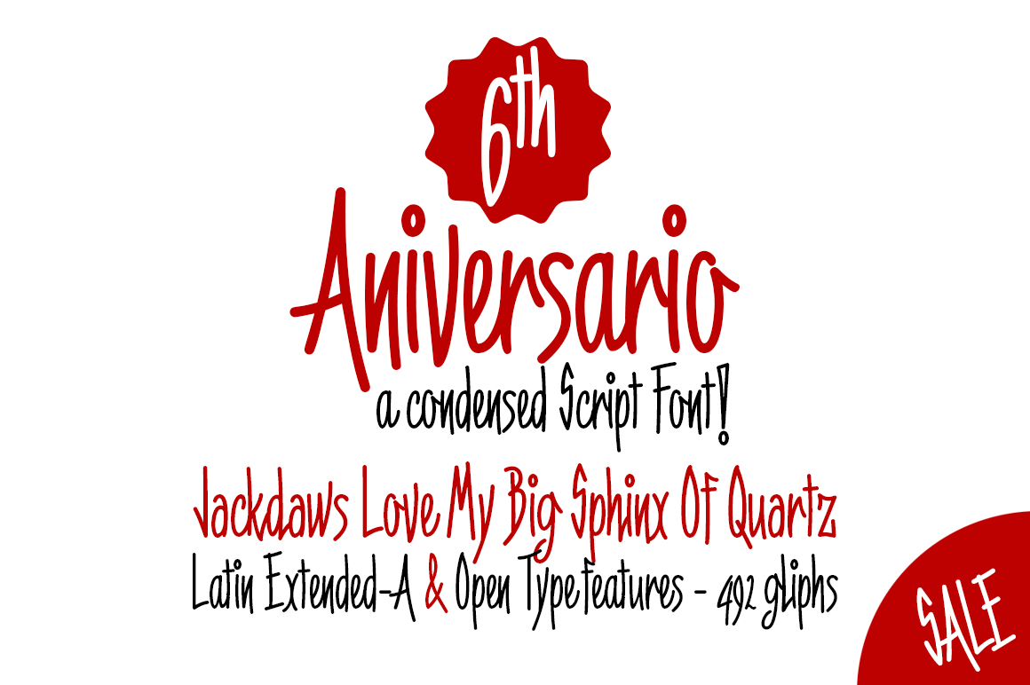 6th Aniversario example image 1
