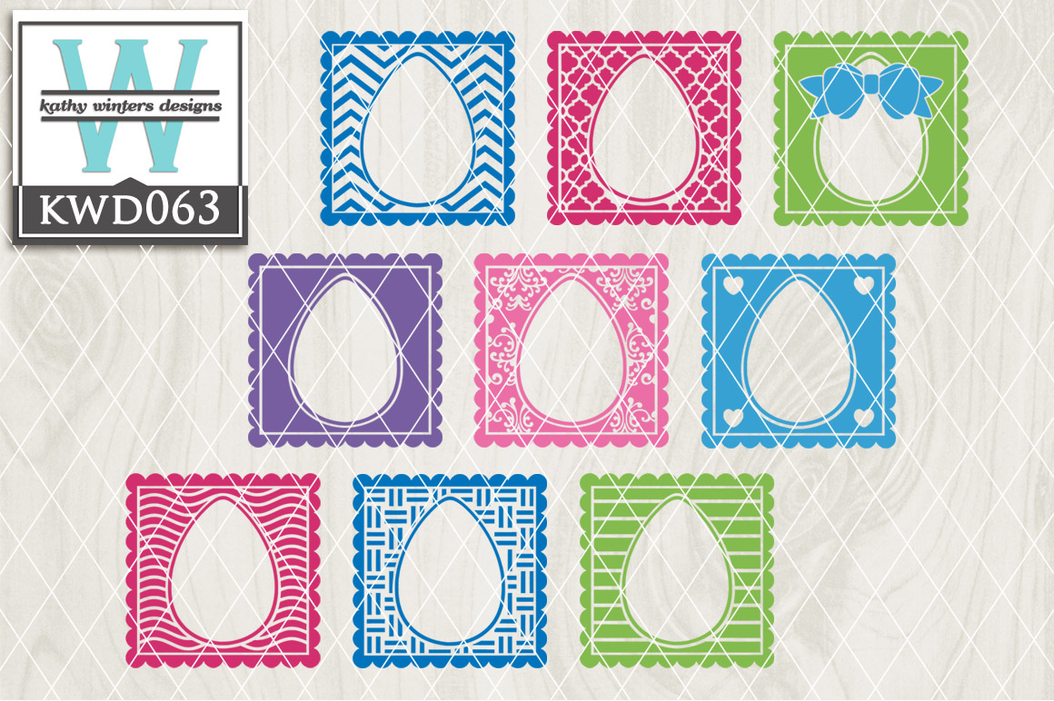 Easter Cutting File KWD063 example image 1