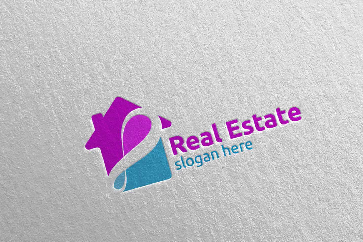 Real Estate Infinity Logo Design 40 example image 3