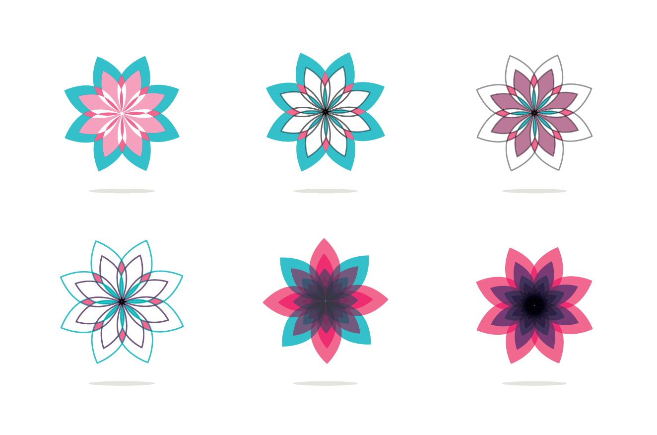 18 Flowers logos collection example image 3