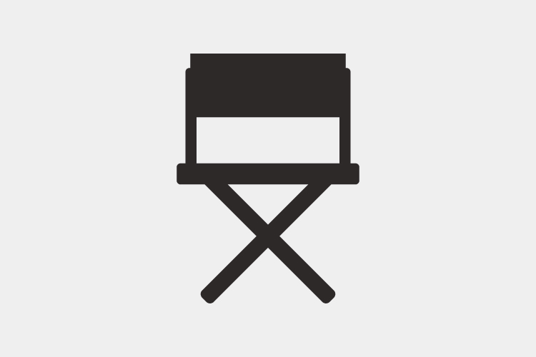 Director chair icon example image 1
