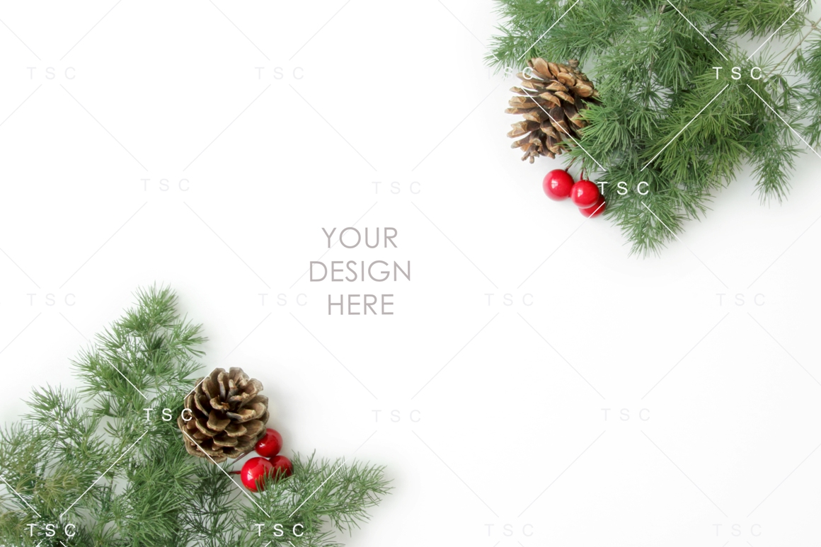Christmas Stock Bundle / Background Image / Red / Green example image 7