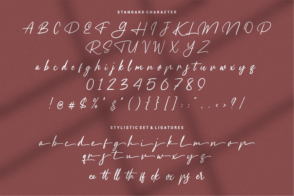Meranie - Signature Font example image 7