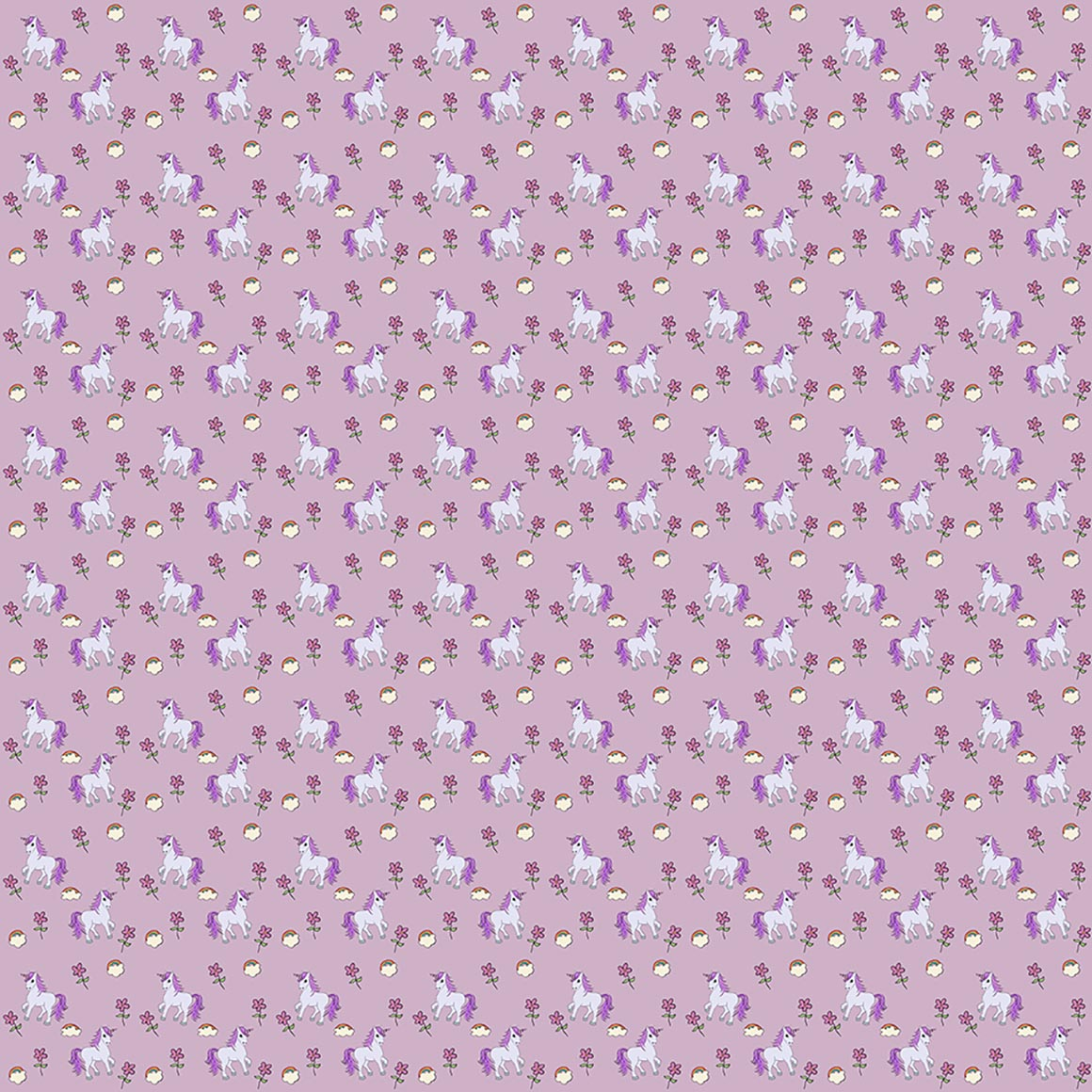 10 Unicorn Themed Seamless Patterns example image 4