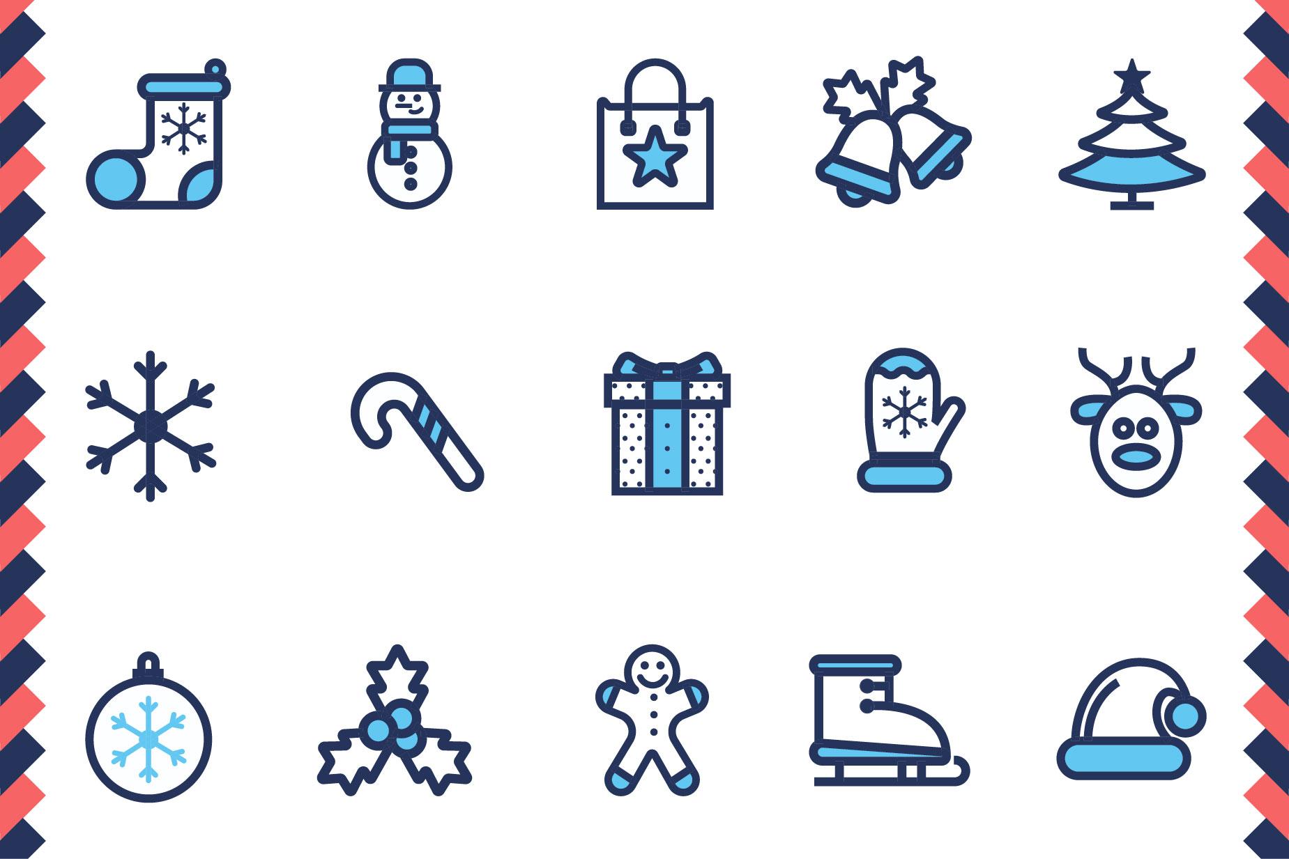 Christmas Icon Set example image 3