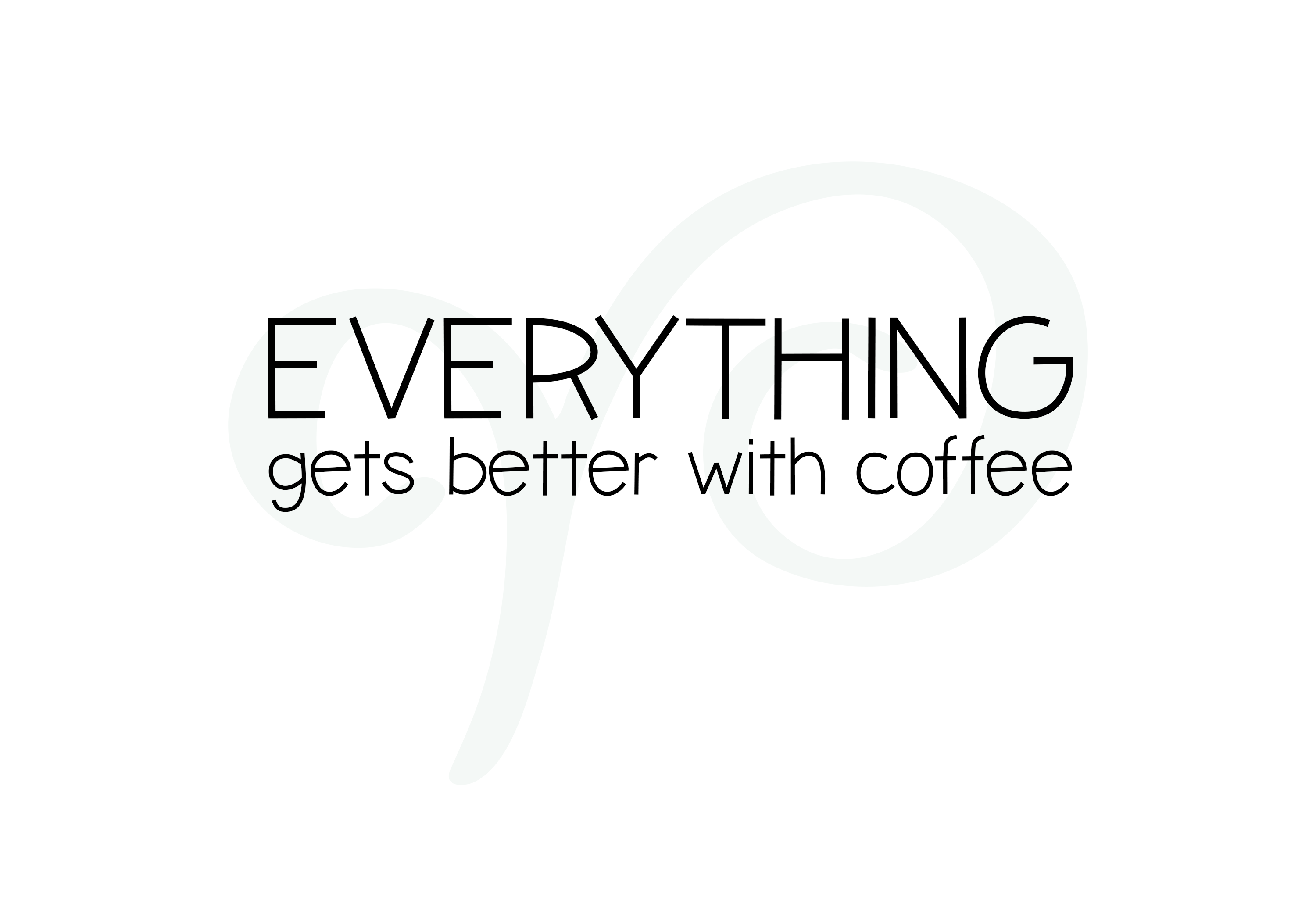 Iced Coffee - A Handwritten Font example image 2