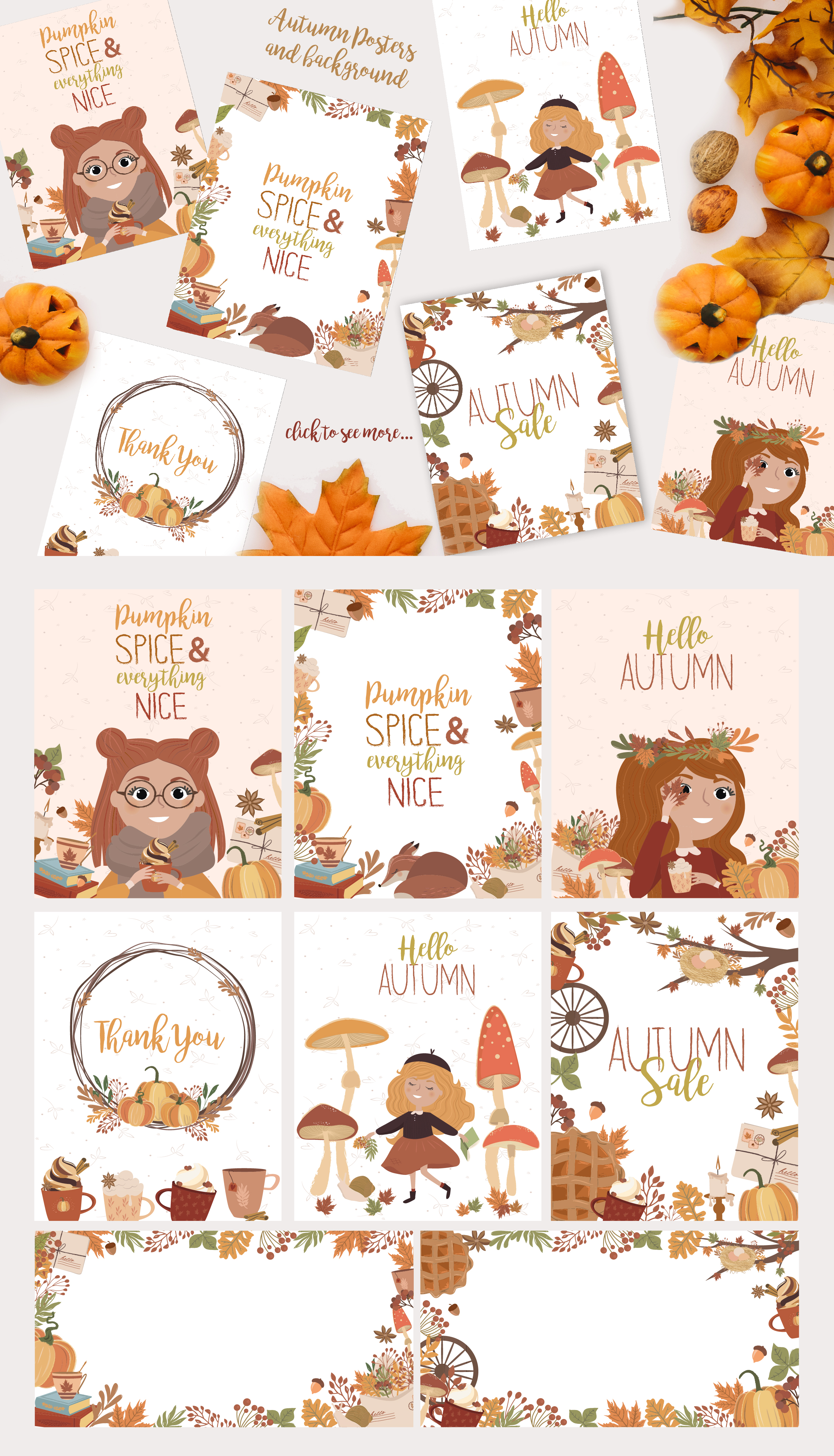 Autumn Dreams collection example image 5