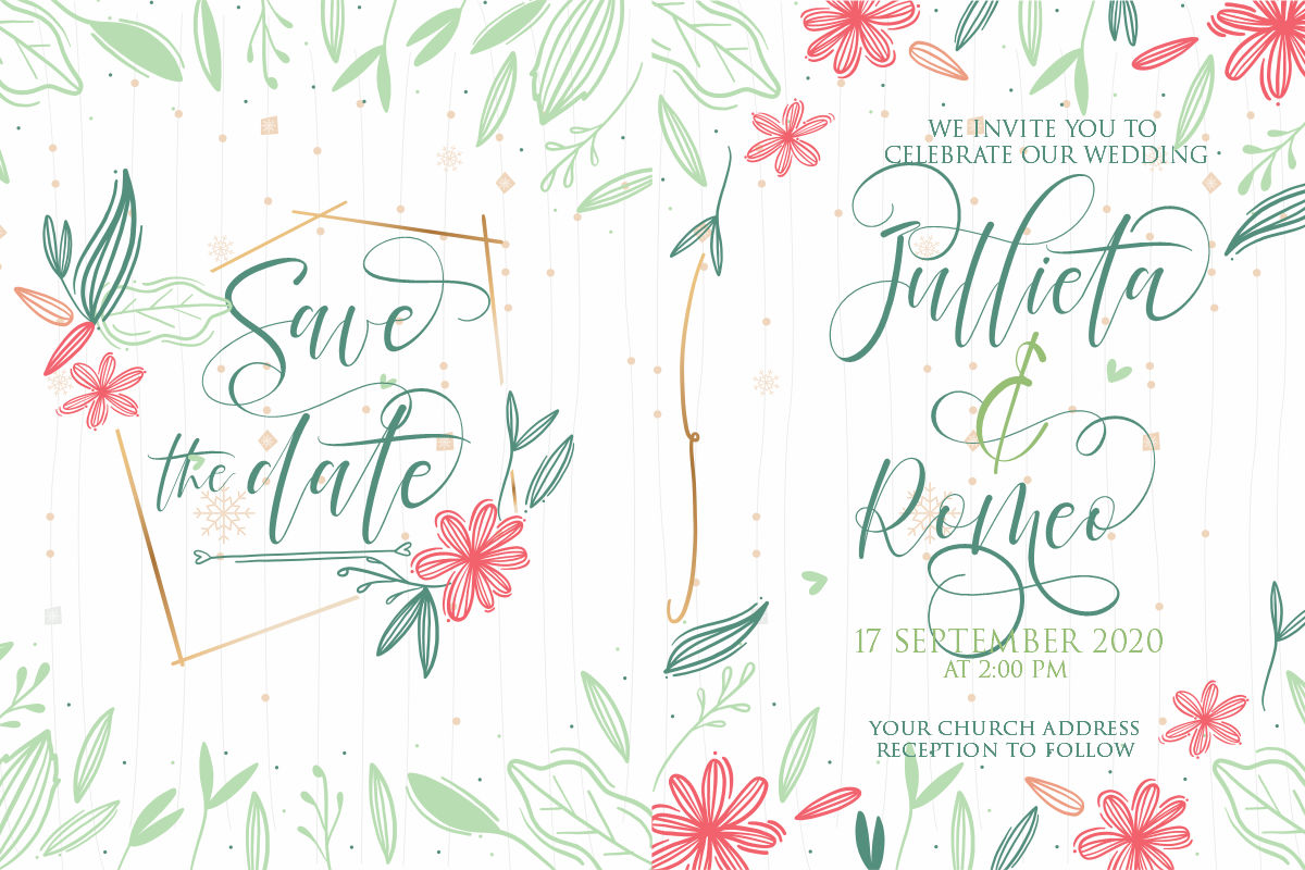 Rodelia | A Beautiful Calligraphy example image 5