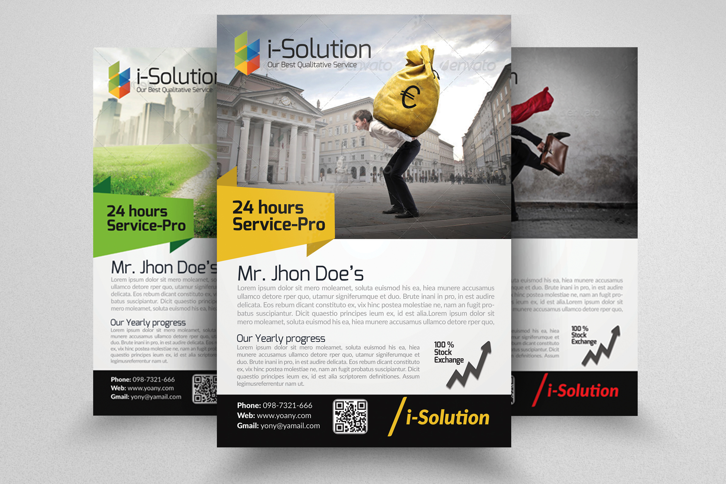 Multi Use Business Flyers example image 1