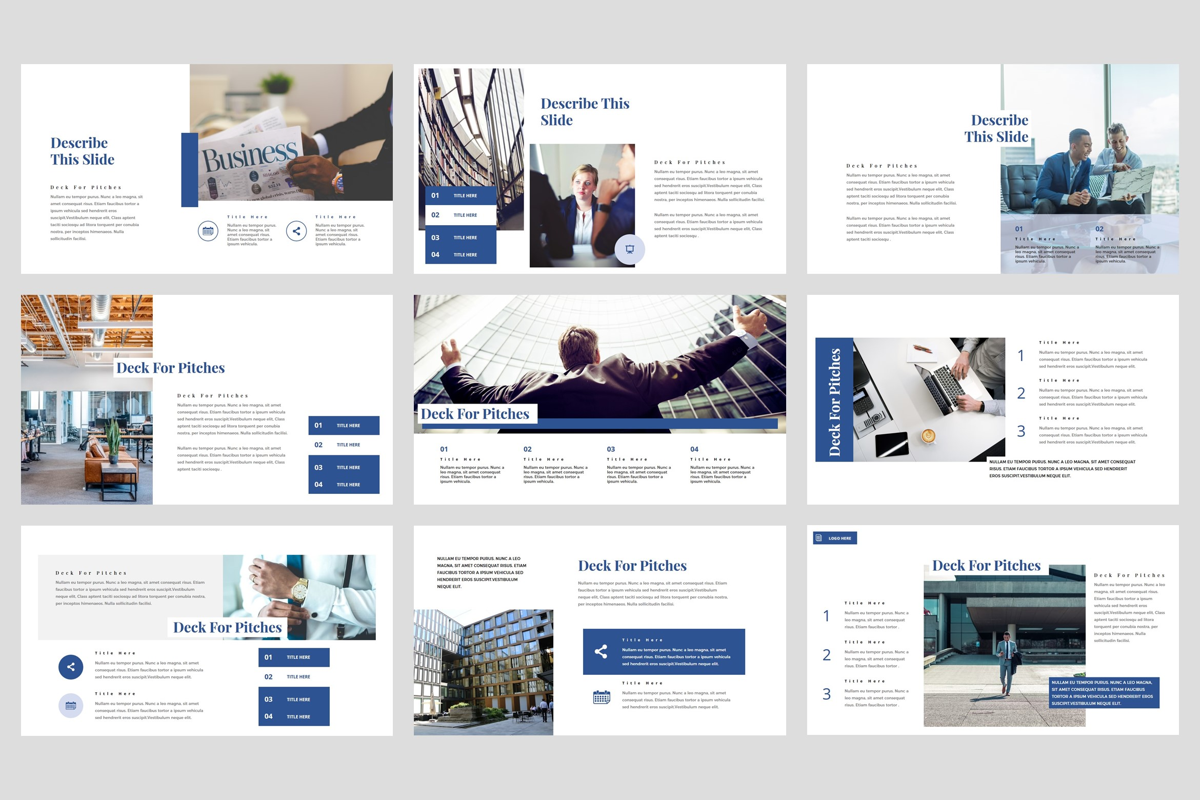 Flows - Pitch Deck PowerPoint Template example image 3