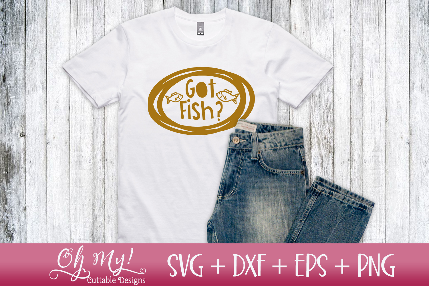 Fish Talk Bundle - 8 Files - SVG DXF EPS PNG Cutting File example image 4