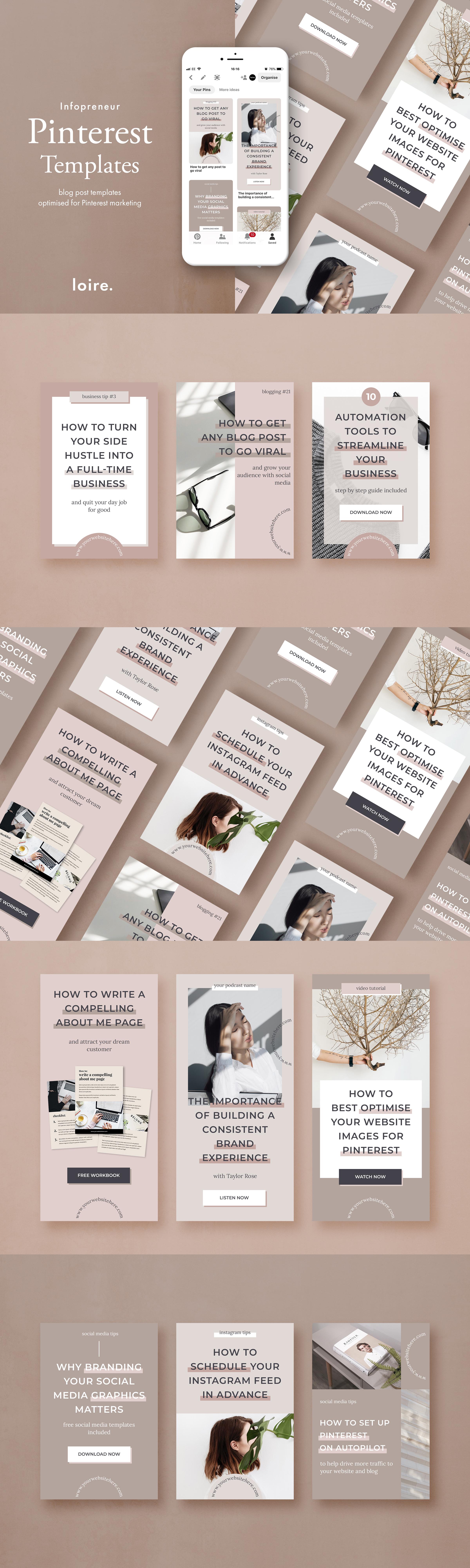 Infopreneur social media marketing bundle for bloggers example image 2