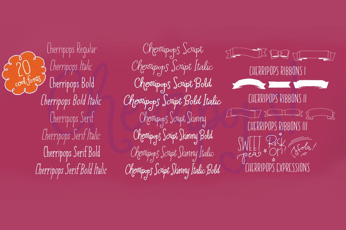 Cherripops Family - 20 pack example image 3