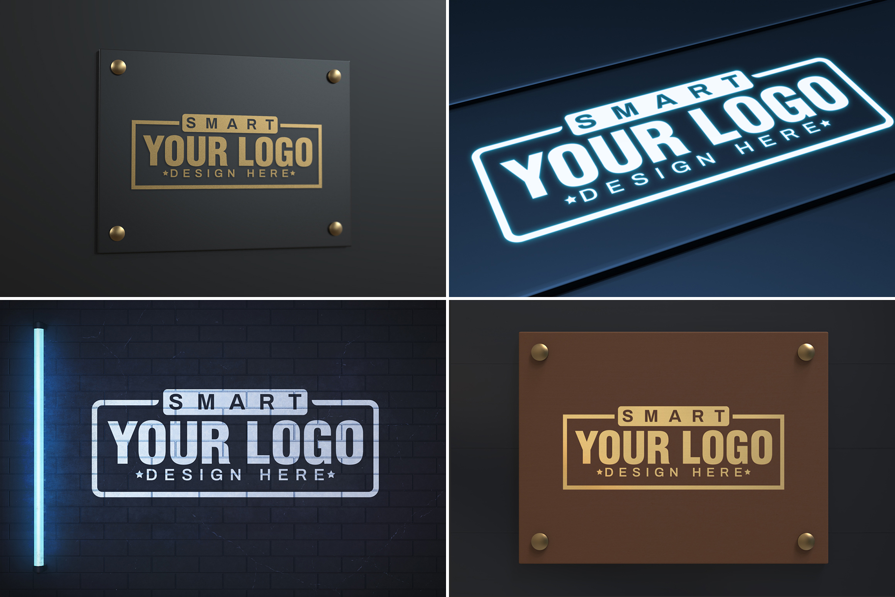 100 Logo Mockups Bundle Vol.3 example image 18