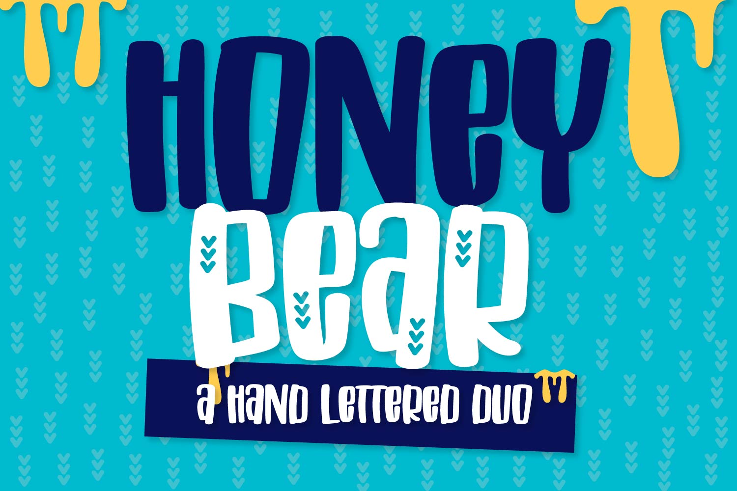 Honey Bear - A Hand Lettered Duo example image 1