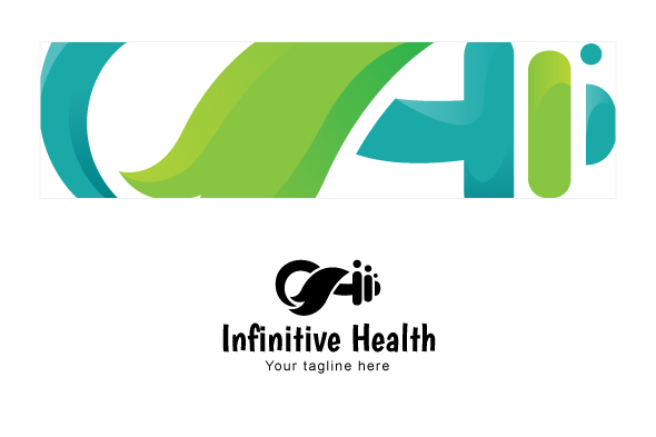 Infinitive Health - Nature & Fitness Group Stock Logo example image 3