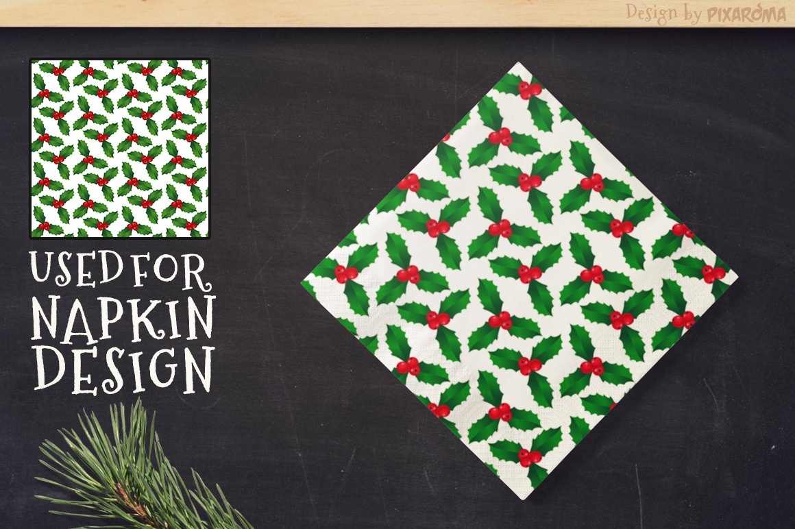 50 Christmas Seamless Patterns example image 12