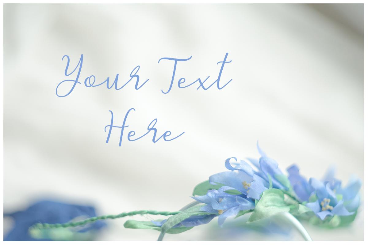 Something blue. Wedding mockups & stock photo bundle example image 5