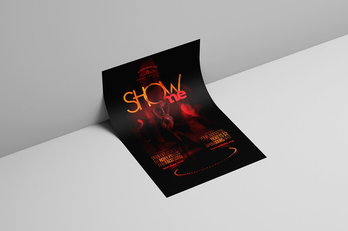 Show Me Flyer Template example image 2