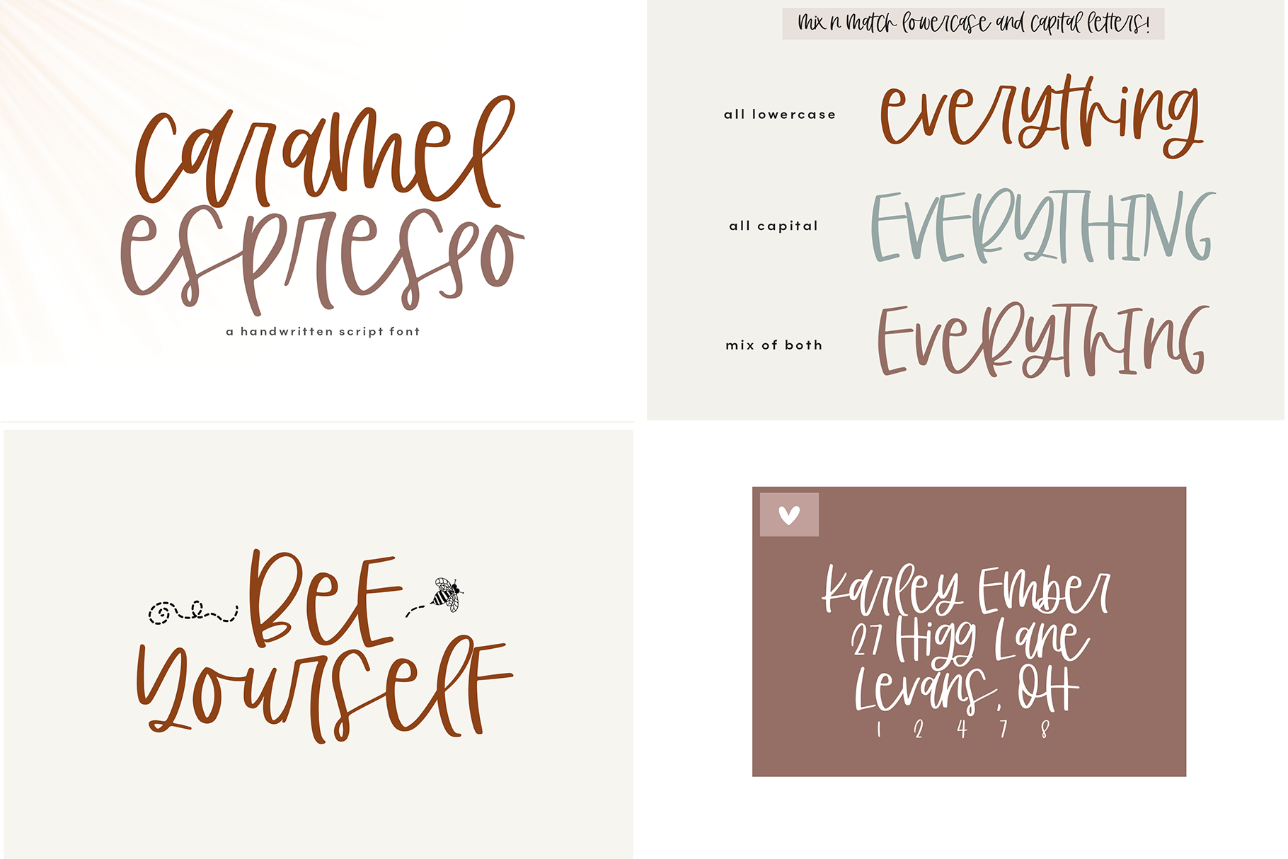 The Coffee Bundle - 6 Fun & Quirky Fonts example image 3
