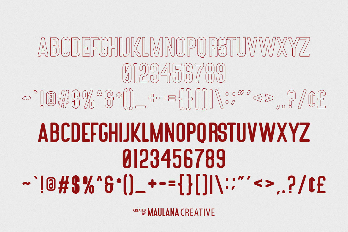 Nubolts Rounded Sans Family Font example image 10