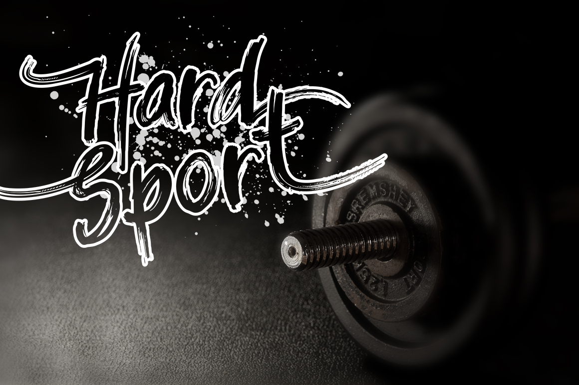 Balistroke Font example image 5