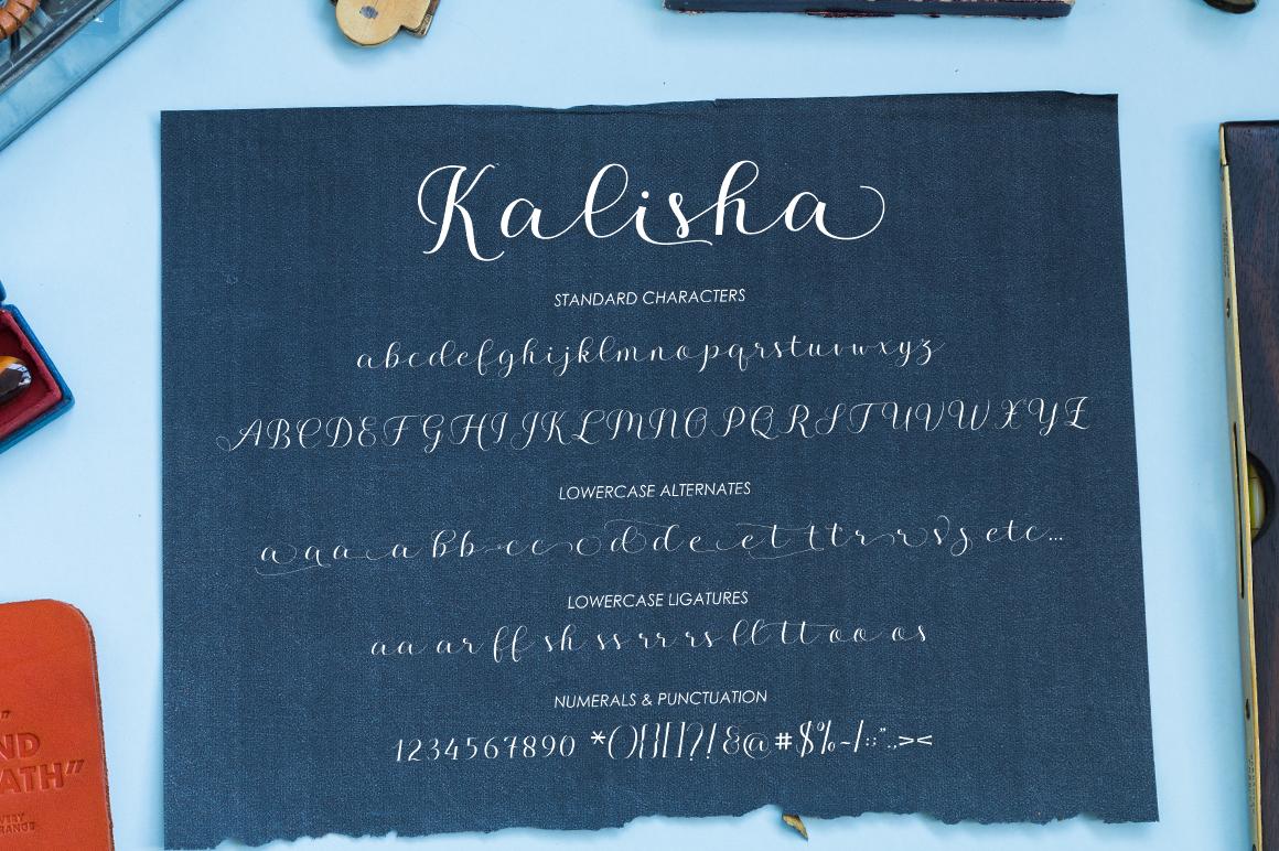 Kalisha Script example image 8