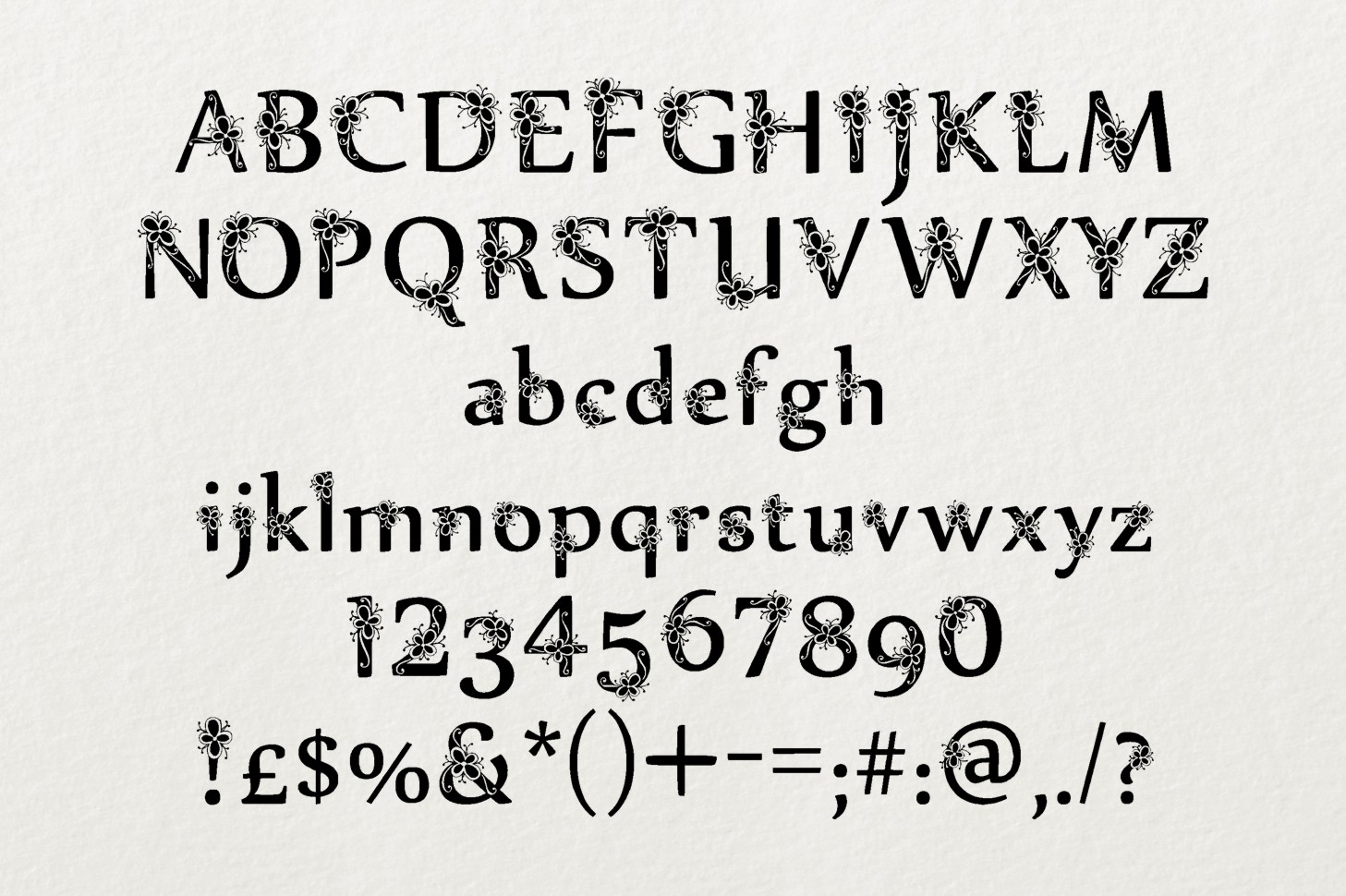 Sylabus font example image 3