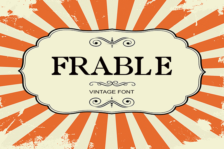 150 Premium Vintage Fonts example image 13