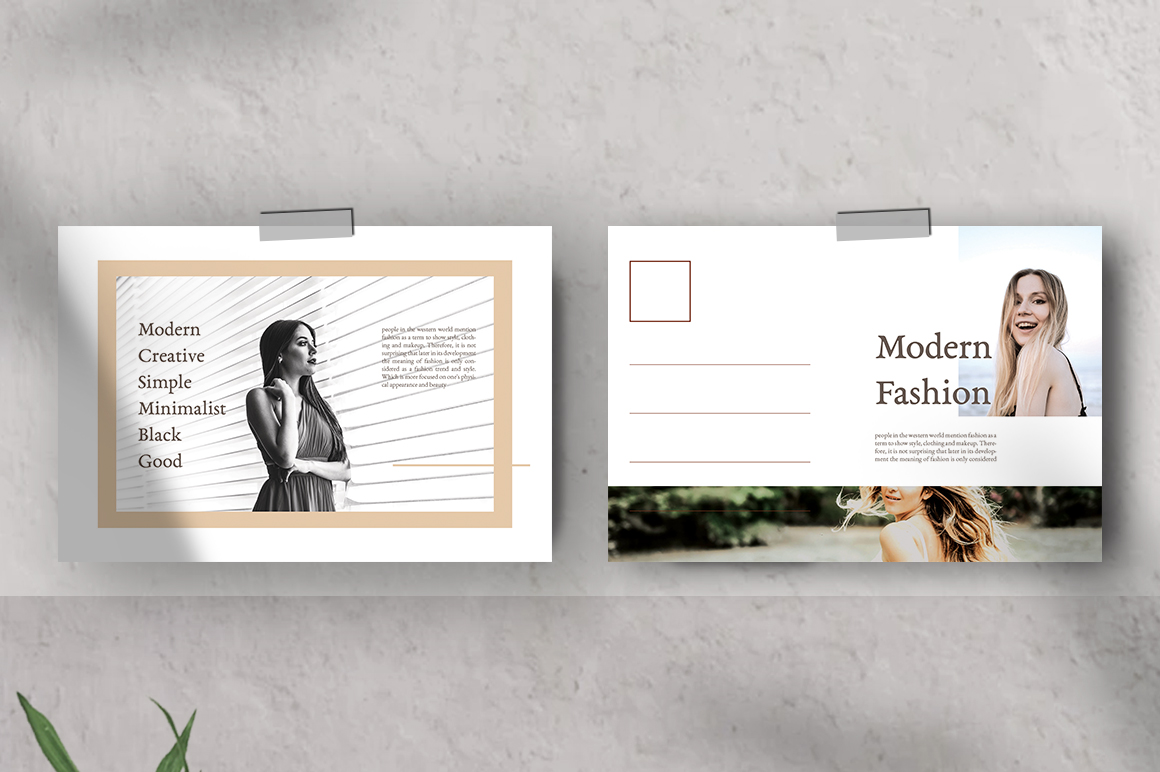 Moodboard Postcard Templates example image 5