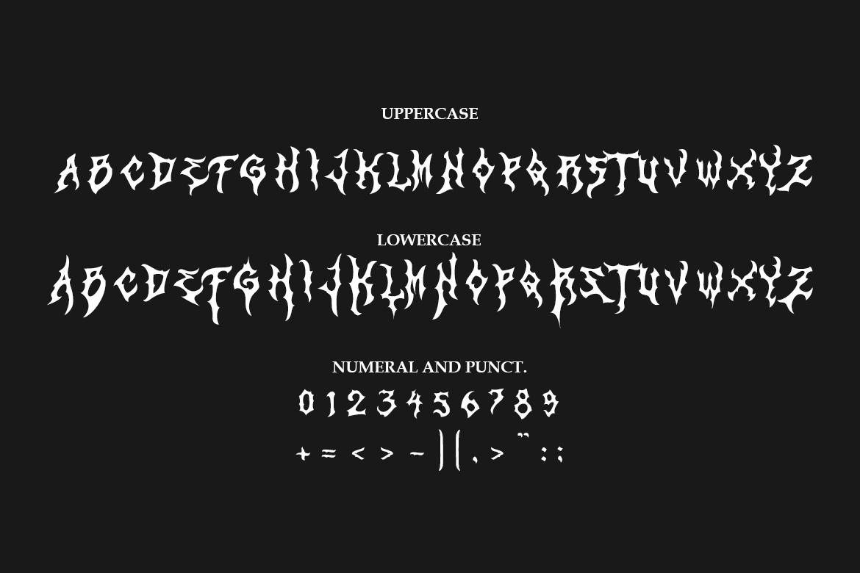 Zamruds - Tribal Font example image 8