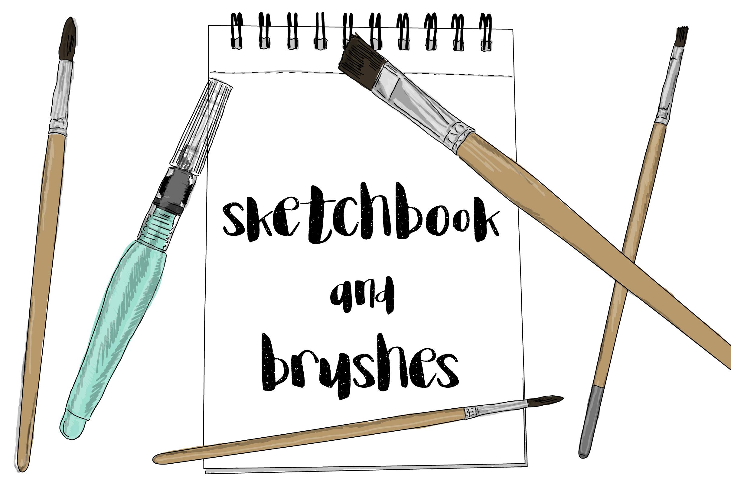Artist hand drawn kit example image 2