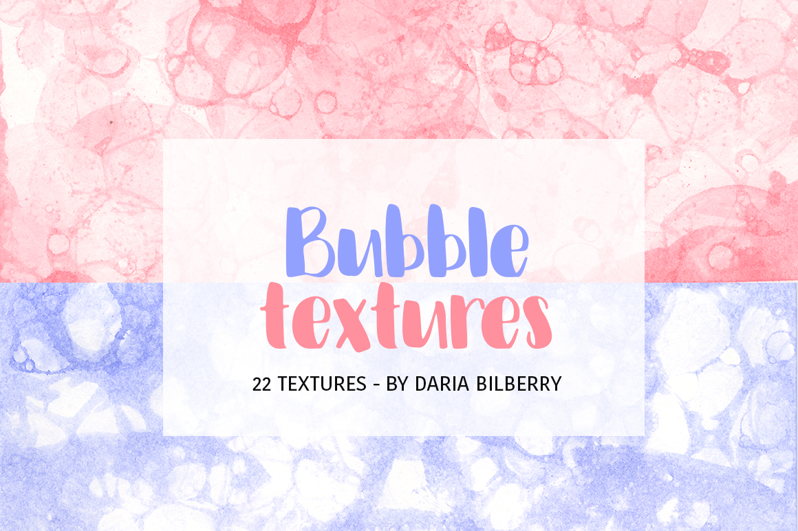 Bubble textures example image 1