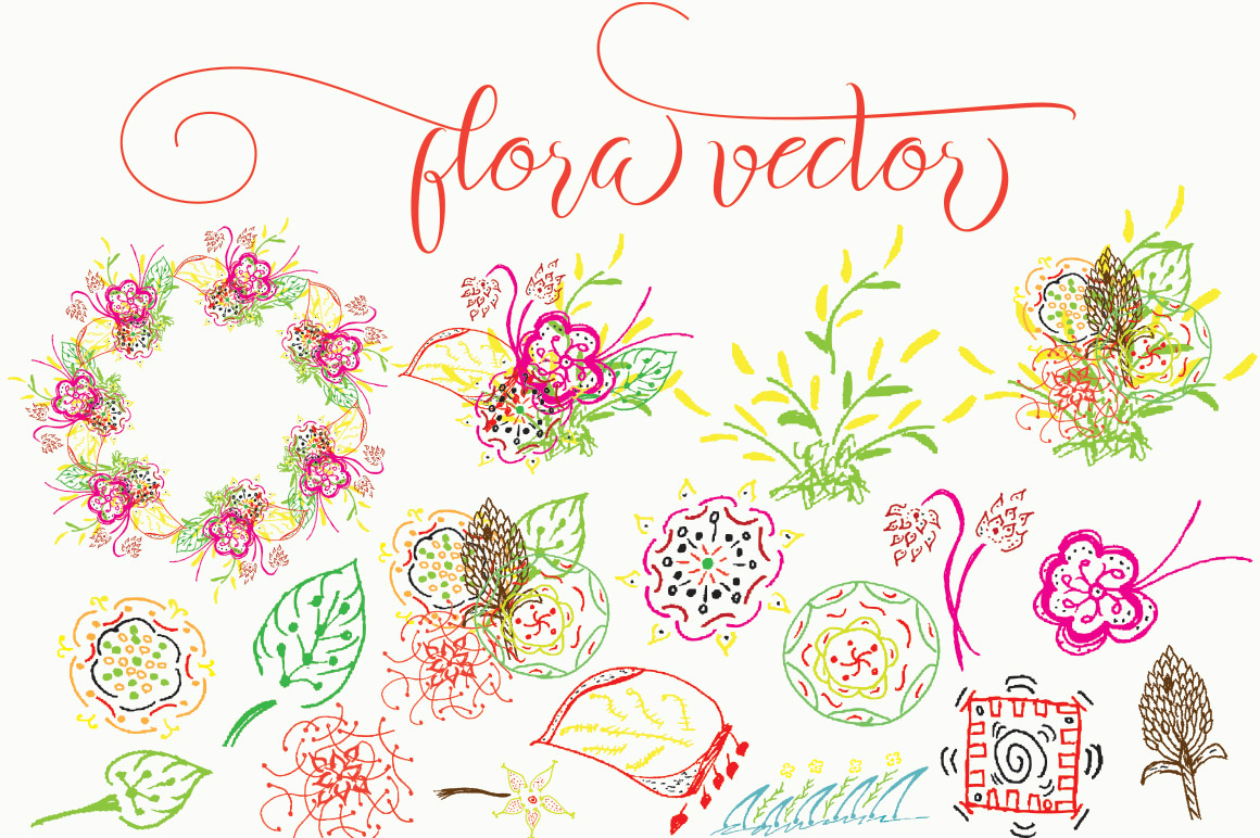 Flora vector example image 1