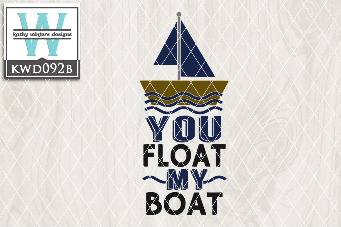 Nautical Cutting File KWD092B example image 1