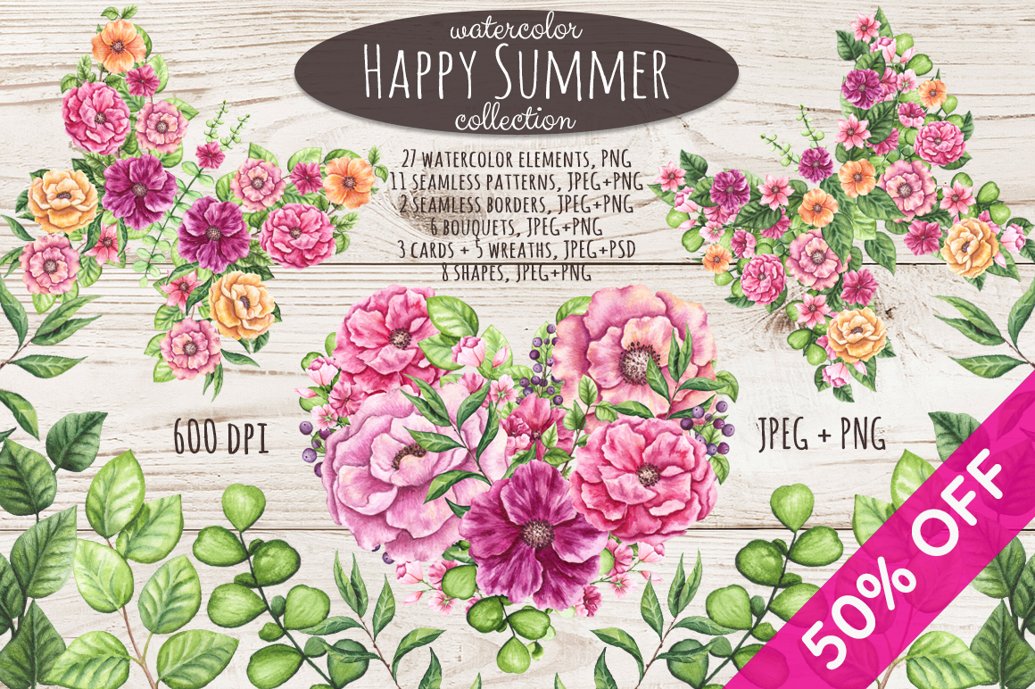 Happy Summer Set example image 1