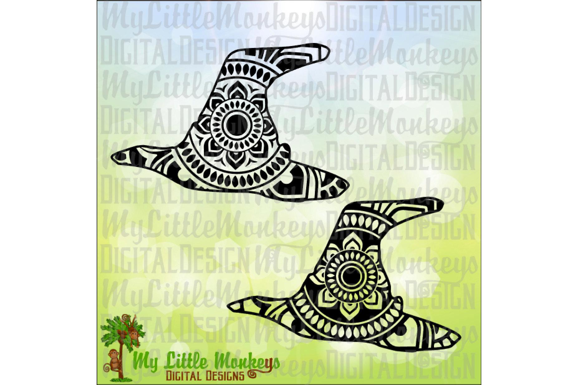Witch Hat Mandala example image 1