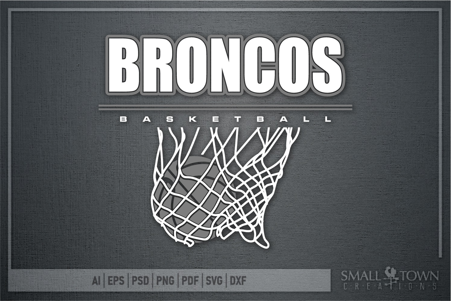 Bronco, Broncos Basketball, Team, Sport, PRINT, CUT & DESIGN example image 5