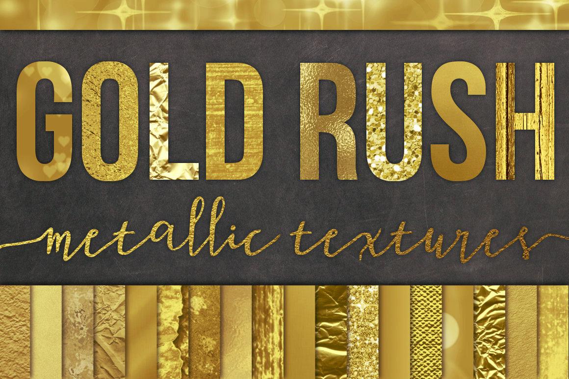 28 Gold Foil Textures Backgrounds