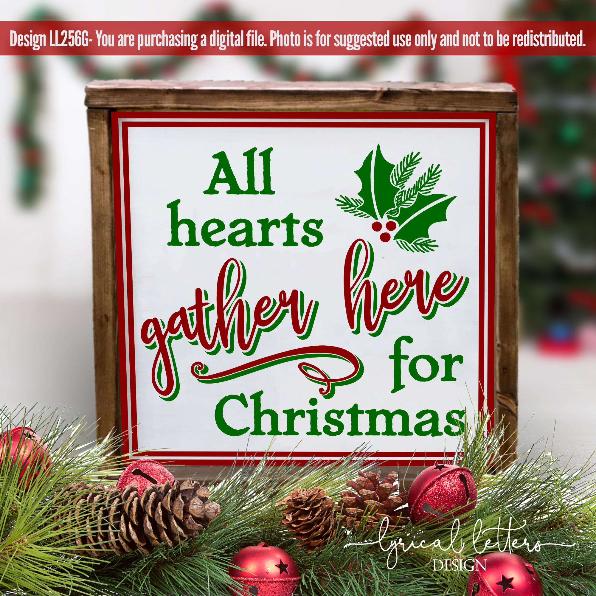 Farmhouse Christmas Bundle of 18 SVG Designs example image 3