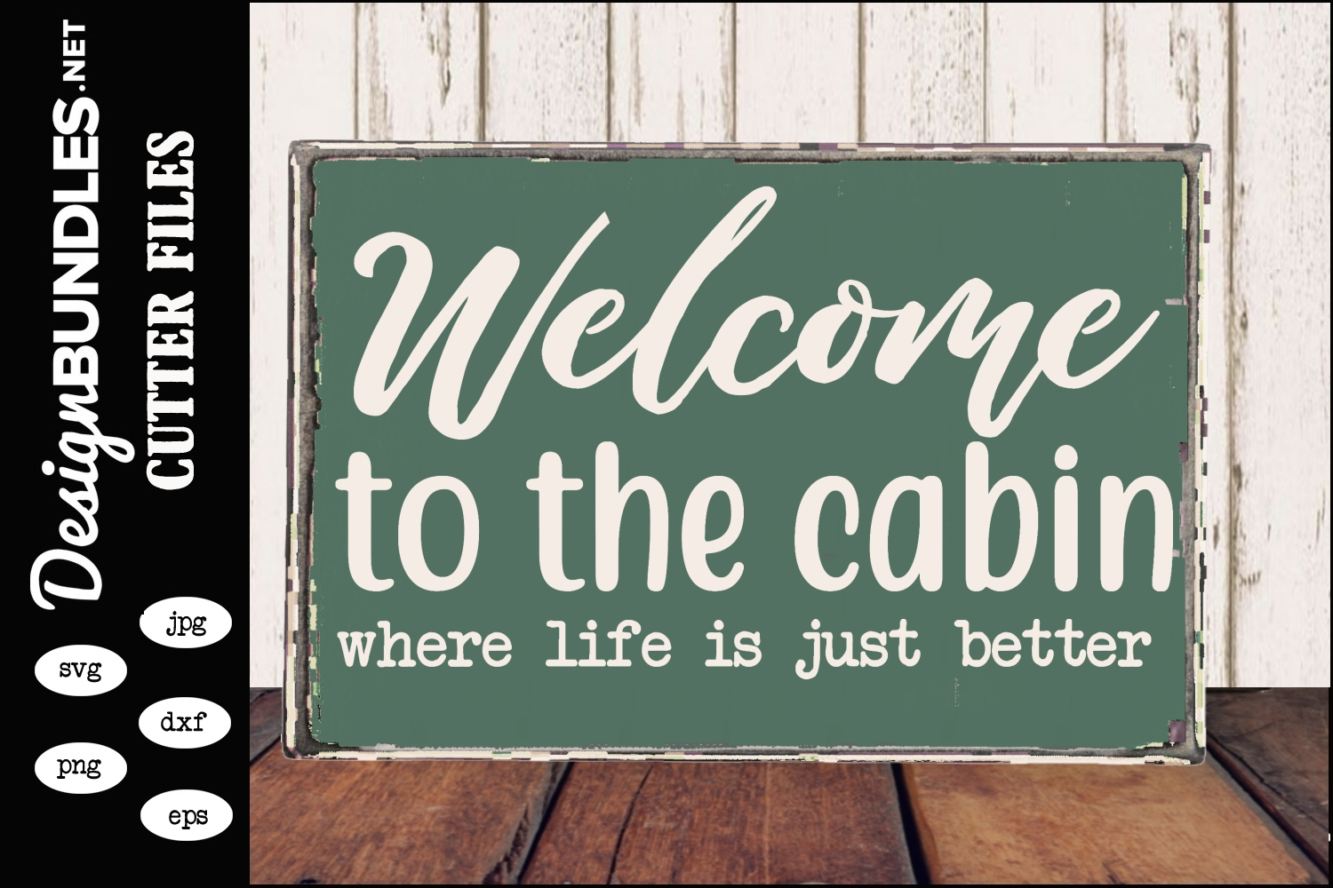 Welcome To The Cabin SVG example image 1