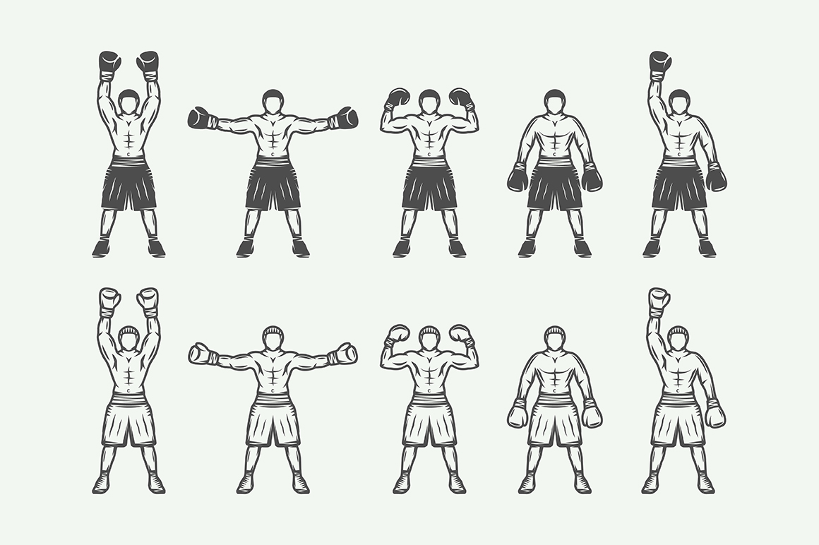 Vintage Boxing Bundle example image 3