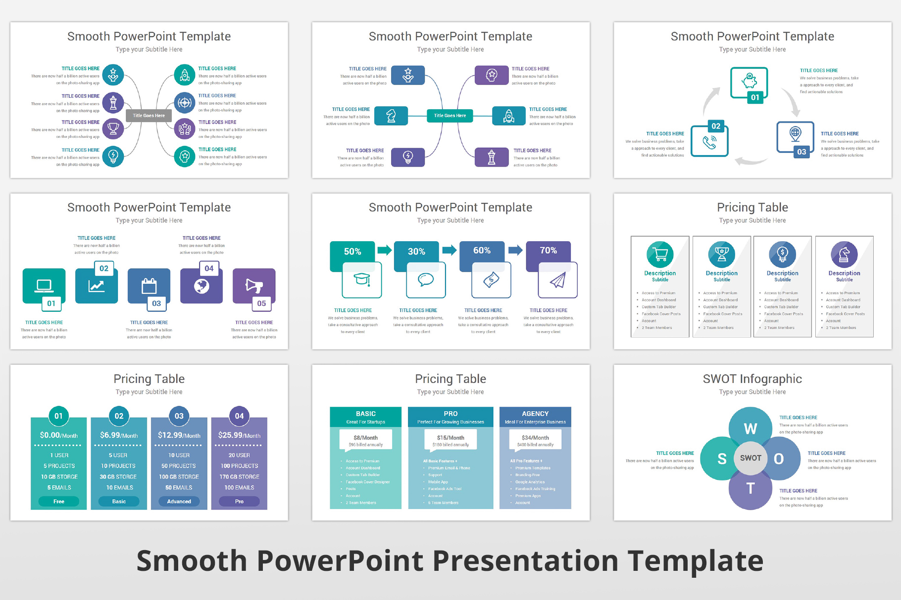 Smooth multipurpose PowerPoint Presentation Template example image 16