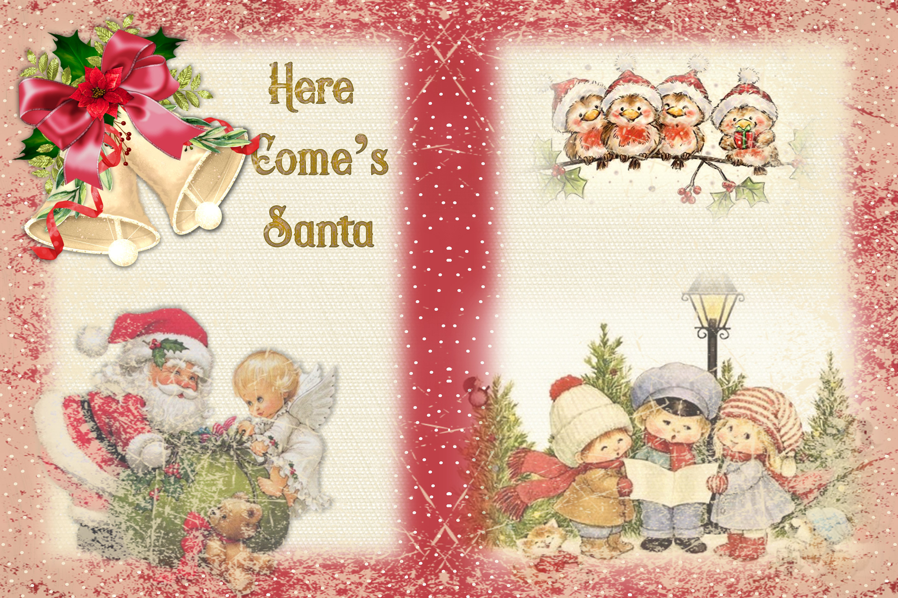 Christmas Fireside Journaling Kit CU with Free clipart example image 3
