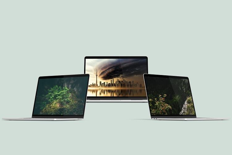 Macbook Pro Mock-Ups example image 9