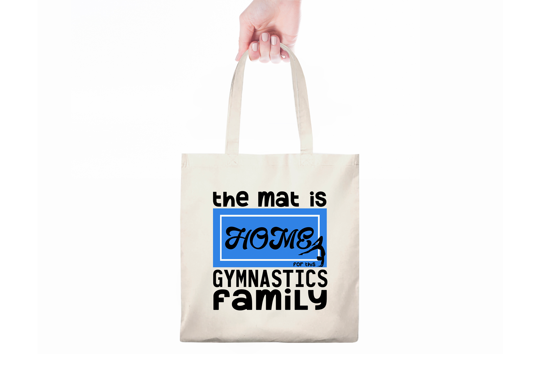 The Mat is Home for this Gymnastics Family, A Sports SVG, example image 3