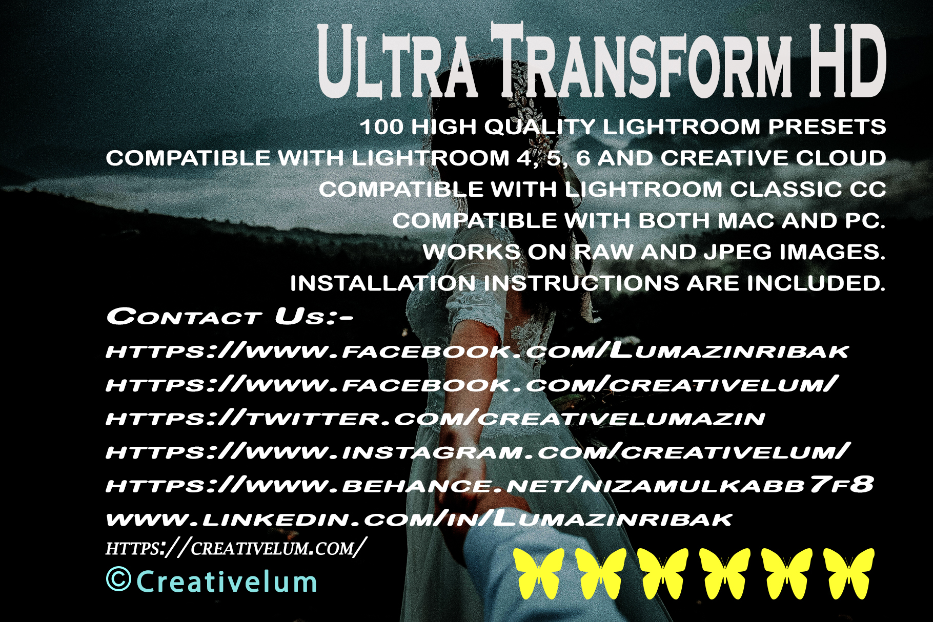 Ultra Transform HD Lightroom Presets example image 15